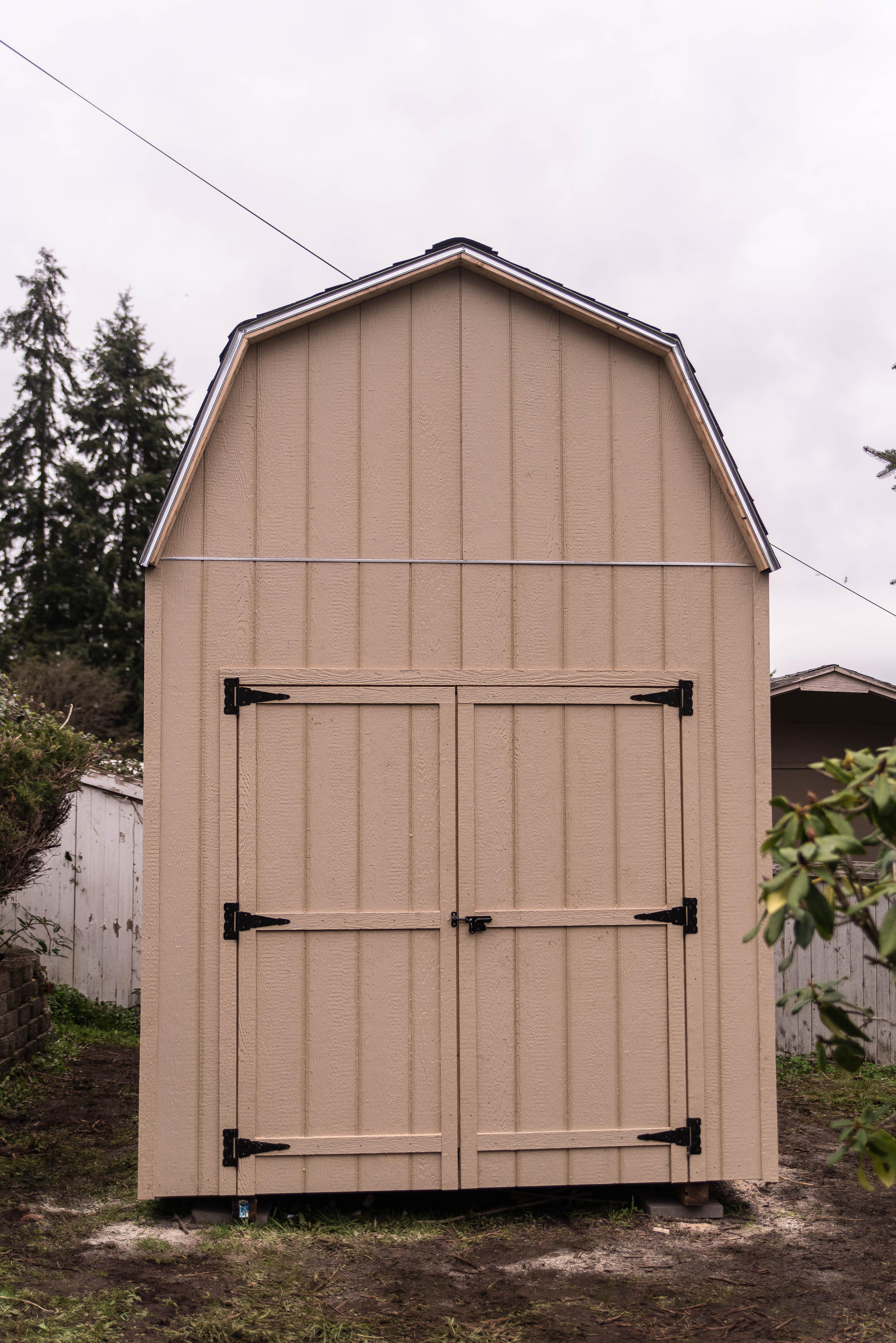 Tall Barns I Build Sheds